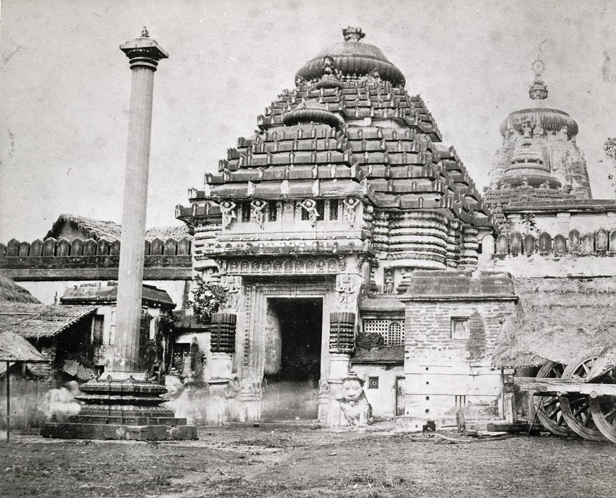 Year 1970: The Lion Gateway (Singha Dwara) of the Jagannath Temple